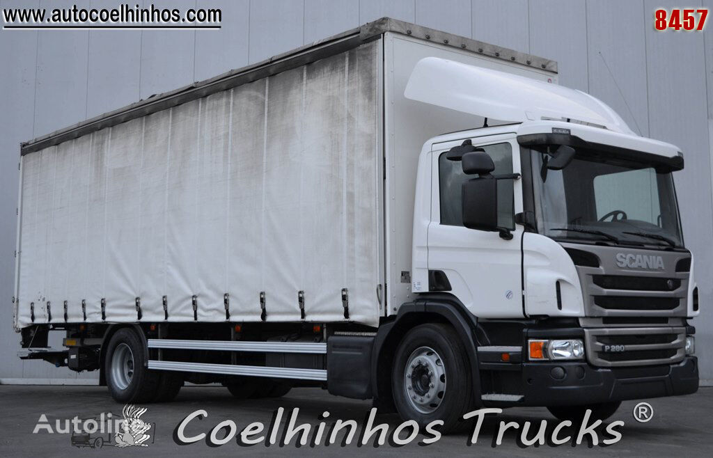 SCANIA P 280 truck curtainsider