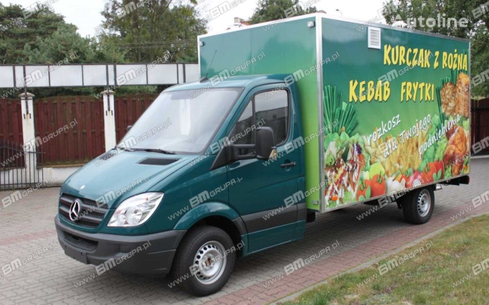 new BMgrupa Food Truck, Imbissmobile, zabudowa na pojeździe vending truck