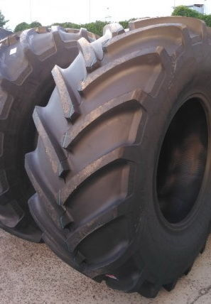 new Mitas Continental AC 70 G harvester tyre