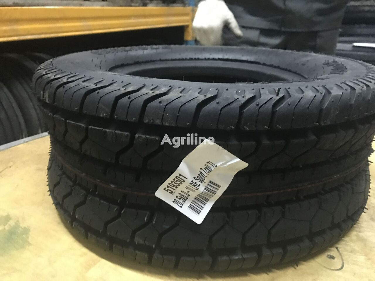 new 20.5H8.0-10 tyre for trailer agricultural machinery