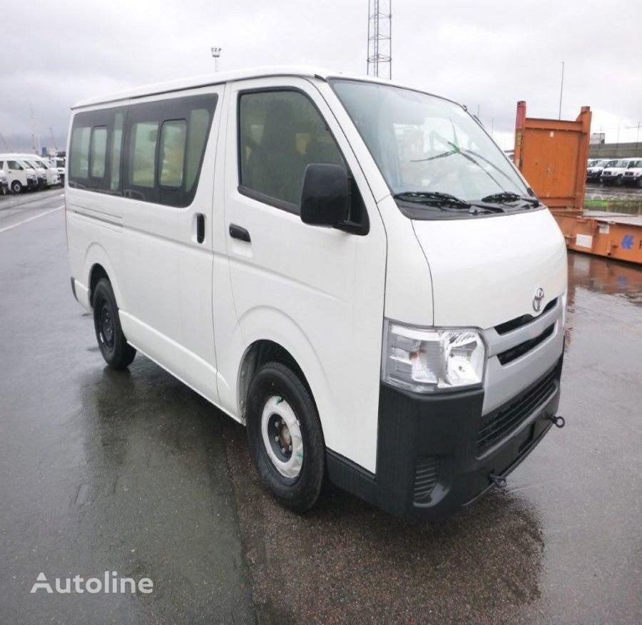 new TOYOTA closed box van