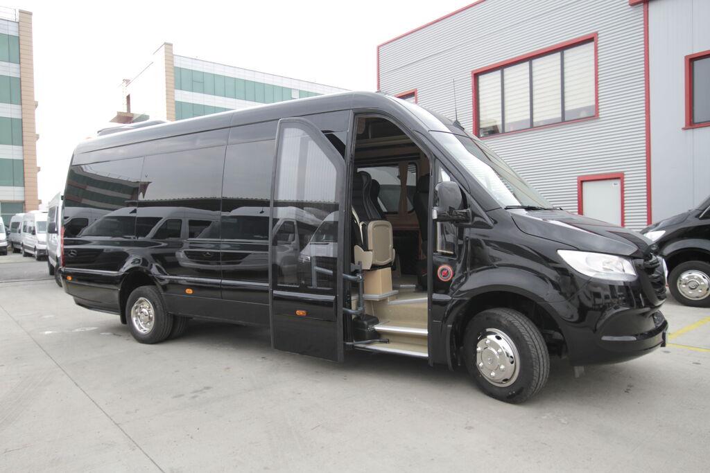 new MERCEDES-BENZ 519, vip *COC* passenger van