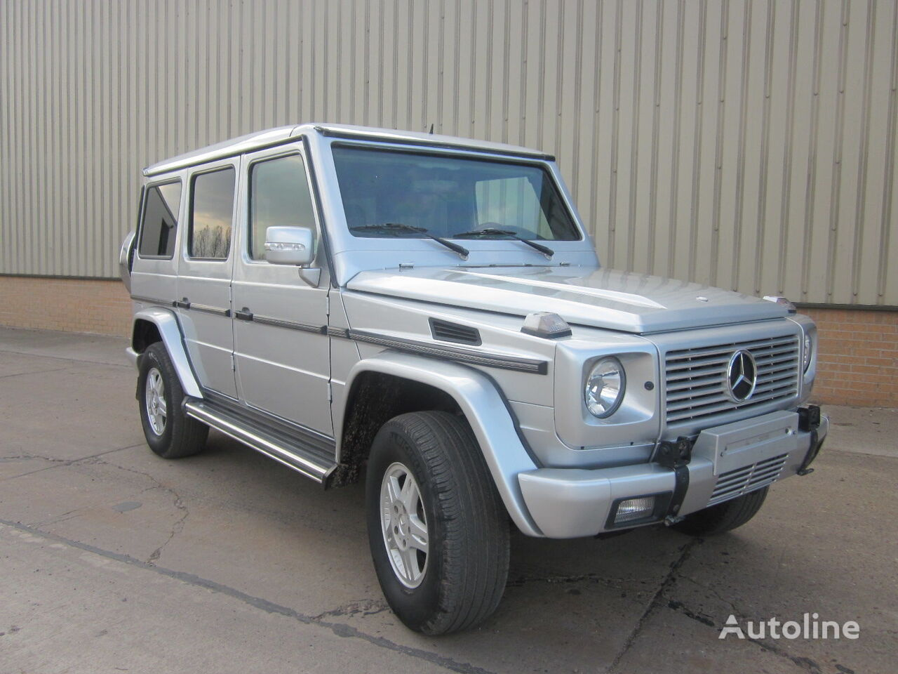 MERCEDES-BENZ G wagon 500 armoured B6 level pick-ups for