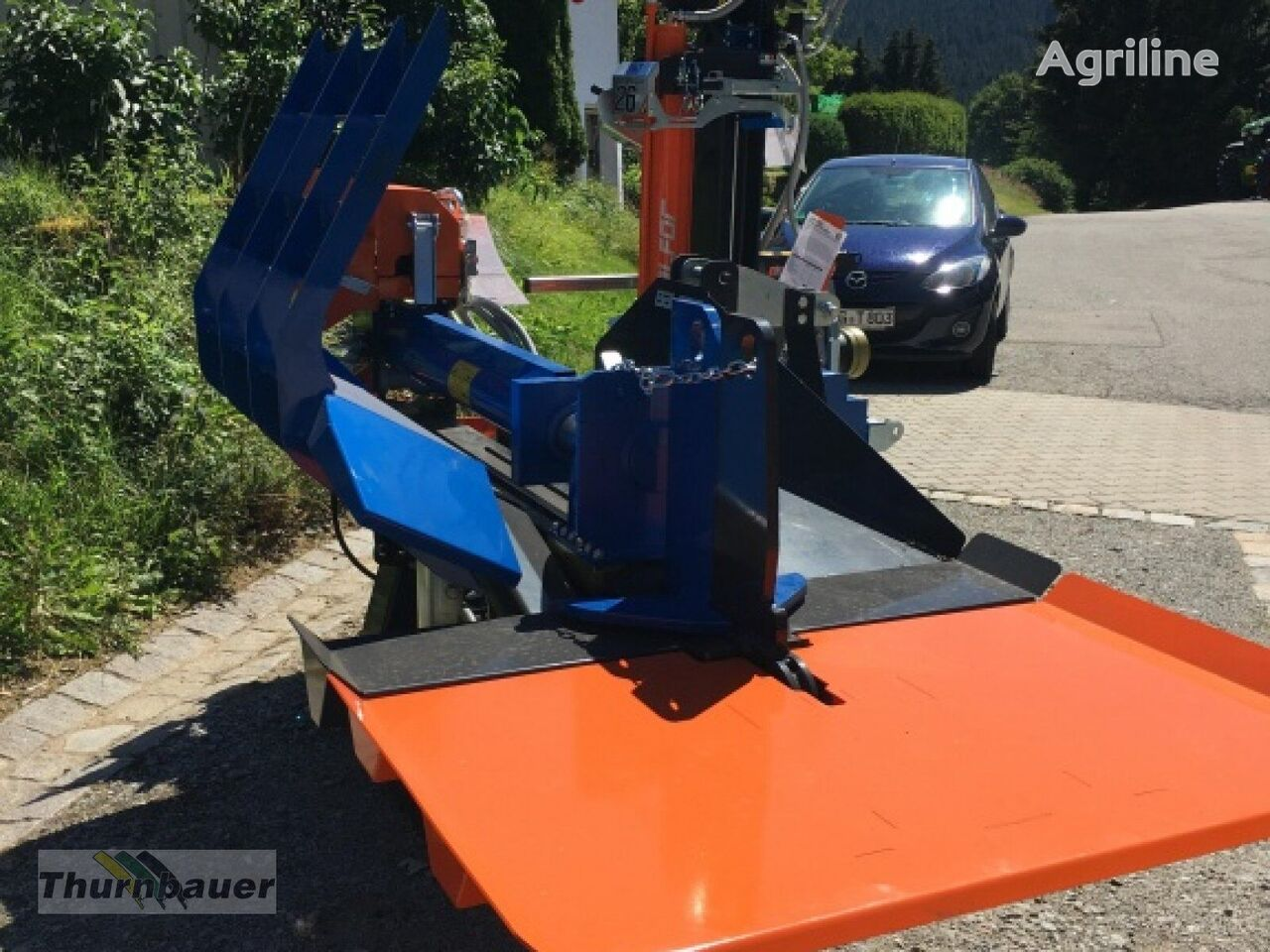 new Balfor PRO35 OR 1250C liegend wood splitter